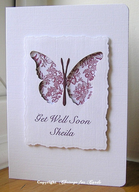 Memory Box thin metal die - Darla Butterfly, Made in USA