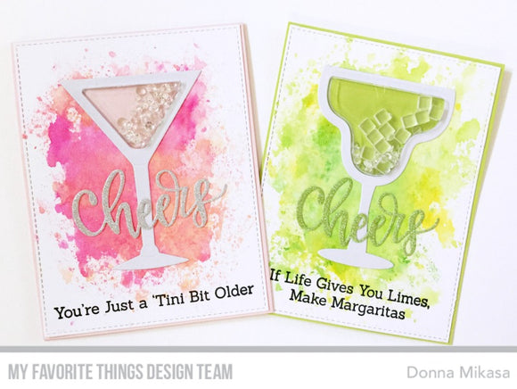 My Favorite Things clear acrylic stamps - Spirited Sentiments, made in USA