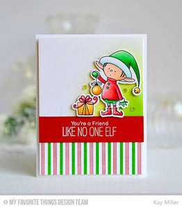 My Favorite Things clear acrylic stamps - Santa's Elves, Made in USA