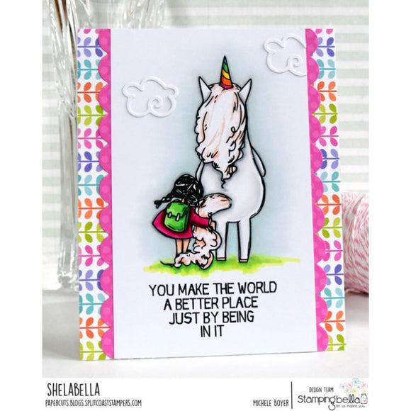 Stamping Bella cling mounted rubber stamps - Rosie Loves Bernie