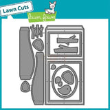 Lawn Fawn thin metal dies - Shadow Box Card , Made in USA
