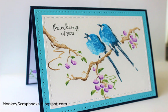 Penny Black cling mounted rubber stamp - The Sweetest Sound