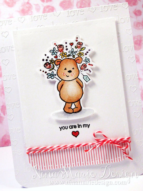Penny Black clear acrylic stamps - Wishes & Hugs