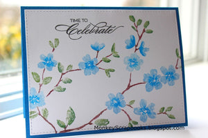 Penny Black clear acrylic stamps - Heartfelt Thanks