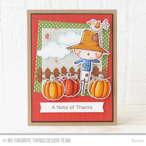 My Favorite Things clear acrylic stamps & metal dies- Fall Friends, Made in USA