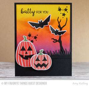 My Favorite Things clear acrylic stamps & metal dies- Spooky Sweets, Made in USA