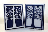 Impression Obsession TREE WINDOW SCENE thin metal die, Made in USA