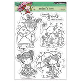 Penny Black clear acrylic stamps - Mimi's Love