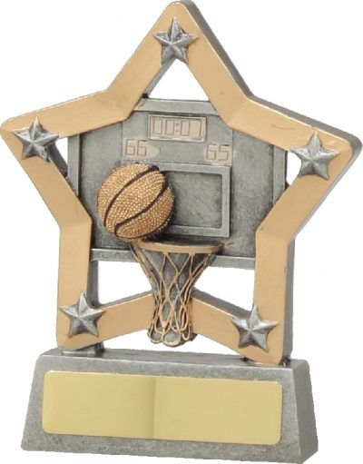 12934 Basketball Trophy