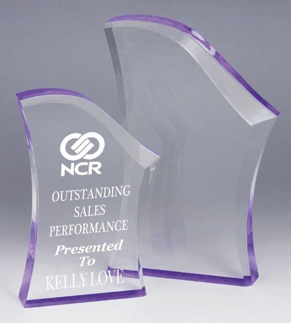 AA3781 Purple Acrylic Award