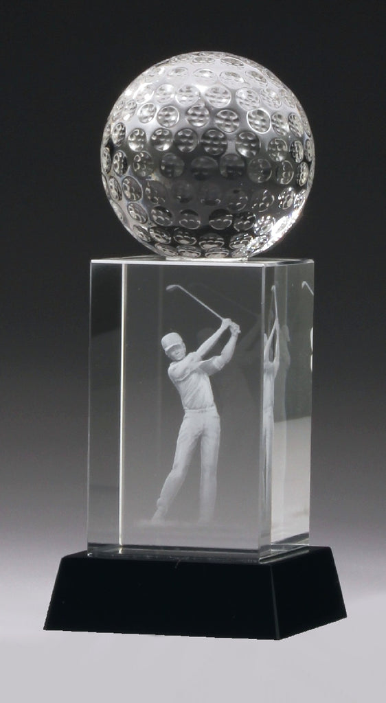 CH448 Crystal Golf Award