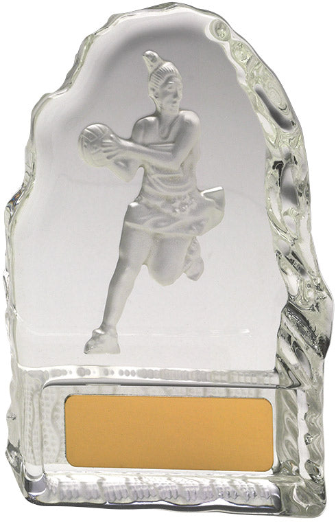 CN837 Netball Crystal Trophy