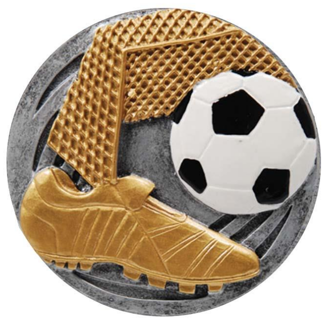 DISC1 Soccer Resin Disc