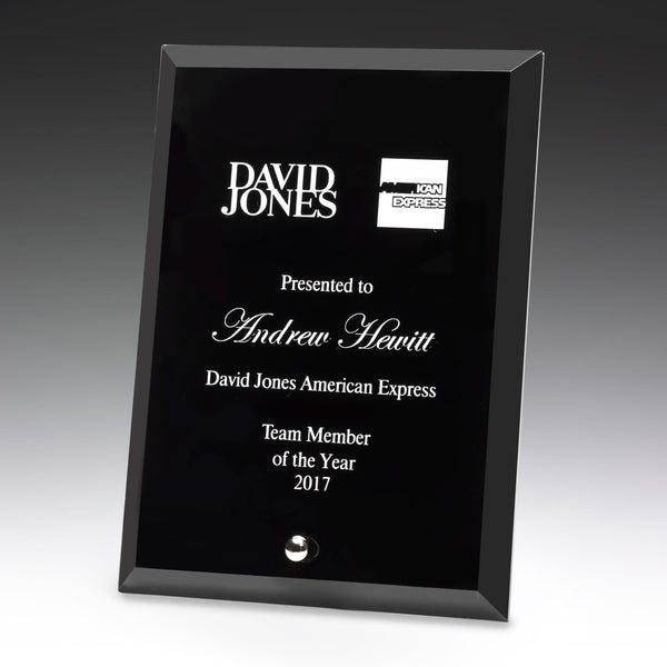 DY70 Glass Plaque
