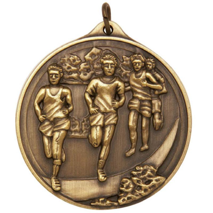 M2166 Cross Country Male Medal