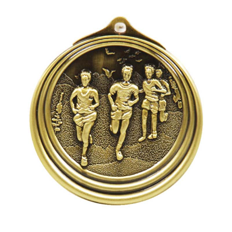 M6166 Cross Country Medal
