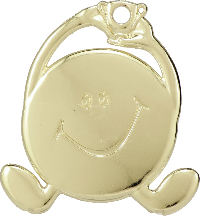 M850 Smiley Face Medal