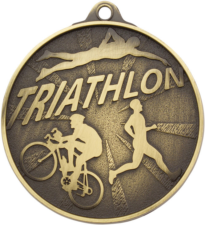 MC17 Triathlon Medal