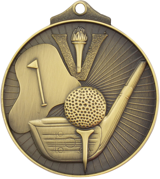 MD909 Golf Medal