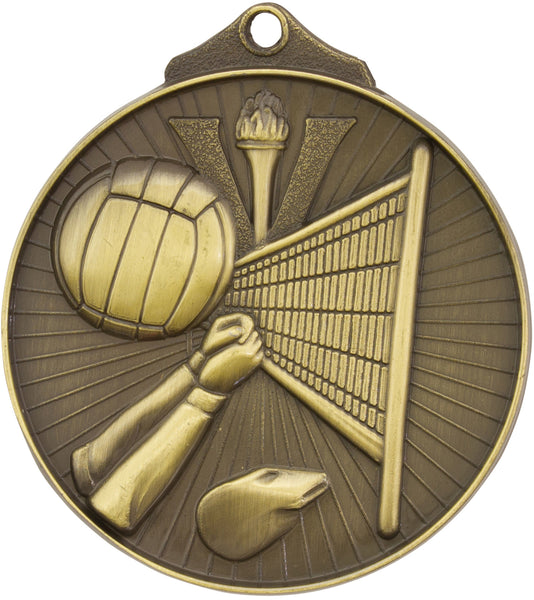 MD915 Volleyball Medal