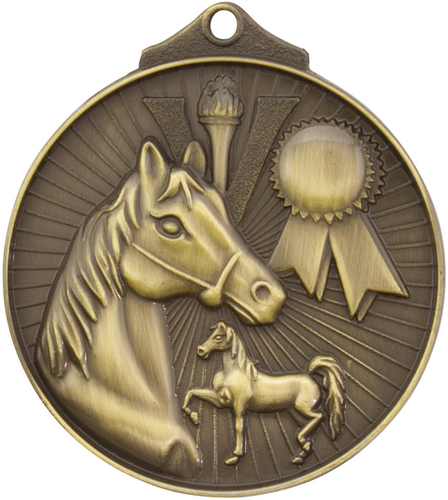 MD935 Equestrian Medal