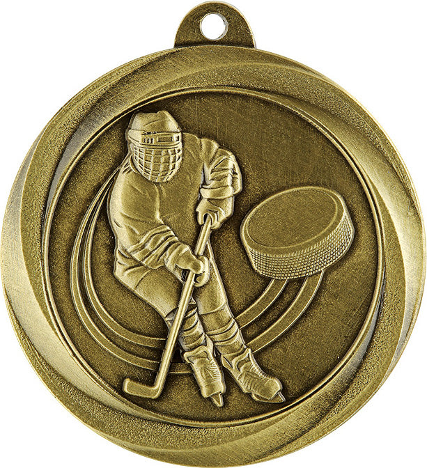 ME922G Ice Hockey Medal