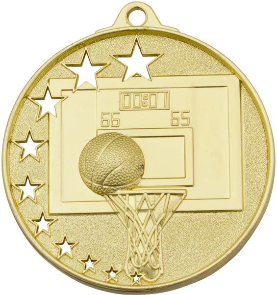 MH907 Basketball Medal