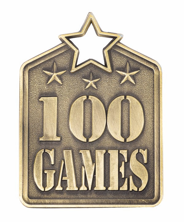 MS2100AG 100 Game Medal