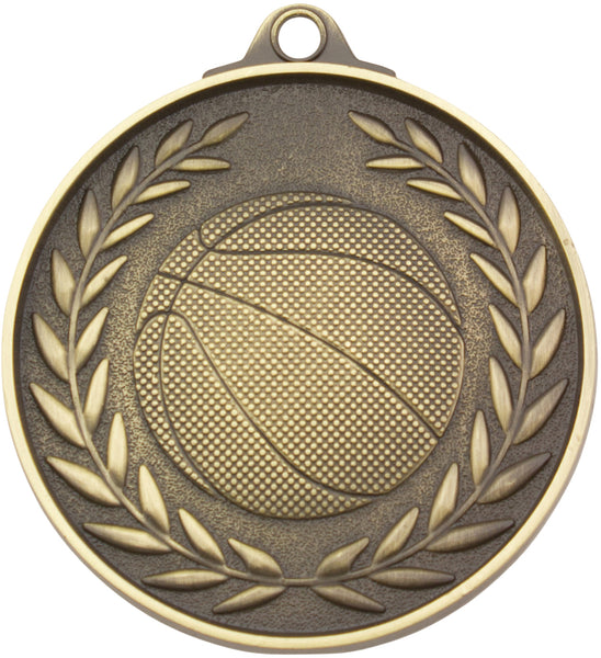 MX807G Basketball Medal