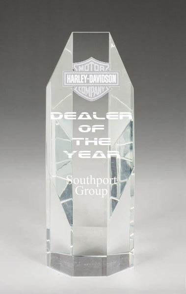 OE025 Crystal Award