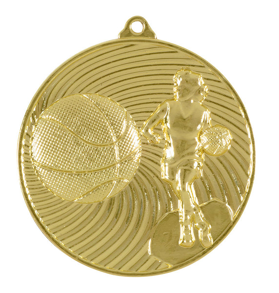 MS3061 Female Basketball Medal
