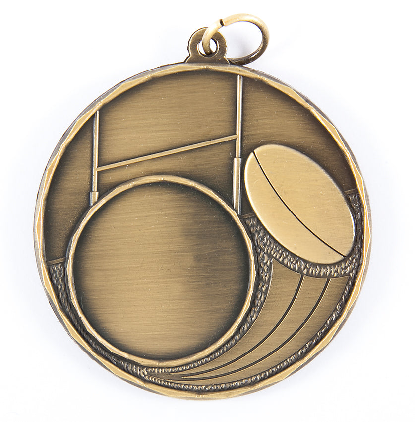 MSS5019 Rugby Insert Medal