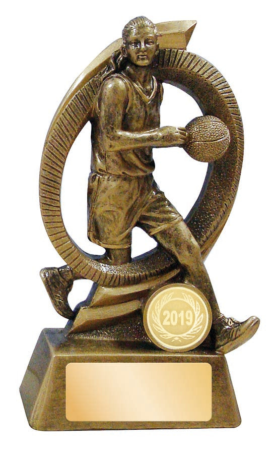 JW3761 Basketball Trophy