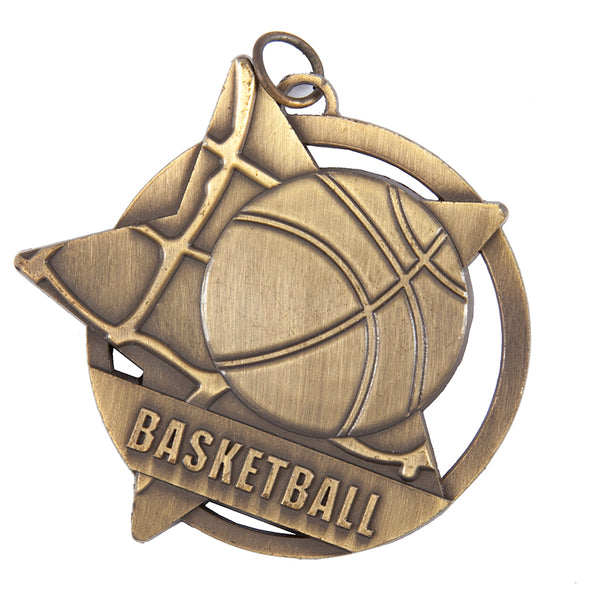 SM10 Basketball Medal