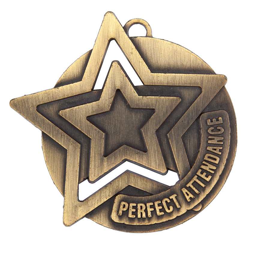 SM18 Perfect Attendance Medal