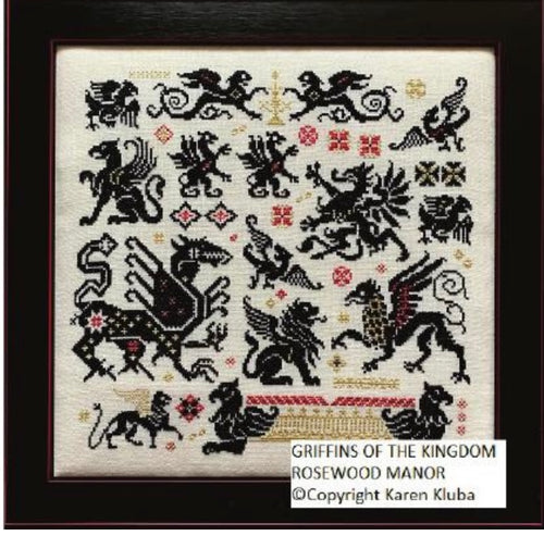 Rosewood Manor Griffins of the Kingdom *Market Pre-Order*