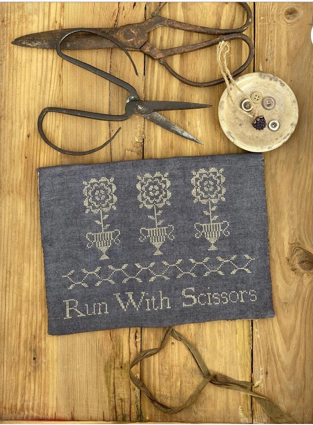Stacy Nash Run With Scissors Sewing Pouch
