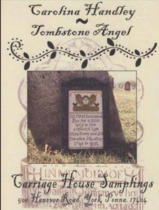 Carriage House Samplings Carolina Handley -Tombstone Angel