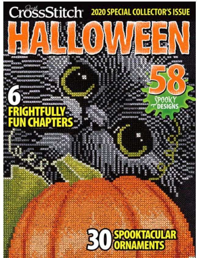 Just Cross Stitch 2020 Halloween