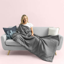 Load image into Gallery viewer, The Weighted Blanket with Cover (15 Pounds)