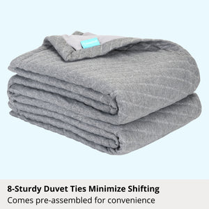 The Weighted Blanket with Cover (10 Pounds)