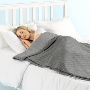 The Weighted Blanket with Cover (15 Pounds)