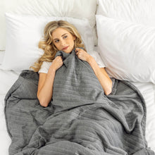 Load image into Gallery viewer, The Weighted Blanket with Cover (10 Pounds)
