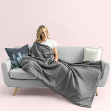 Load image into Gallery viewer, Top Weighted Blanket for Sleep, Stress, and Anxiety