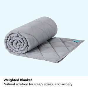 Weighted Blanket with Navy Duvet Cover (Limited Edition)