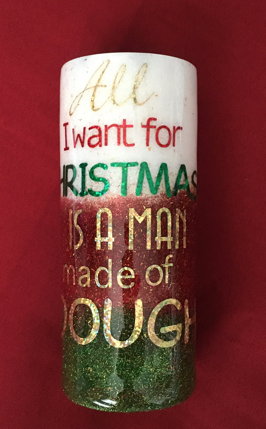 All I want for Christmas is a Man made of Dough