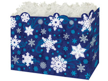 Load image into Gallery viewer, Blue Snowflake Gift Box