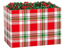 Load image into Gallery viewer, CHristmas Plaid Box Gift