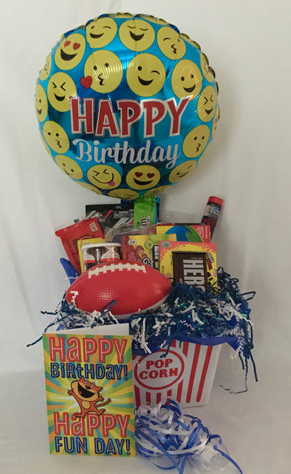 **Allow us to customize these movie baskets for adults' birthday, thank you, bachelor/bachelorette, anniversary, engagement, and much more. The base price is $35.00 for this gift. This gift may be locally delivered or shipped nationwide. Adult boxes priced accordingly!