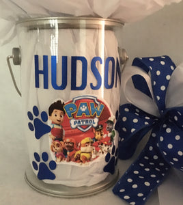 Birthday Paw Patrol Paint Can